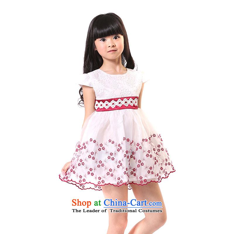 The girl child dressesTZ5108-0001red150cm