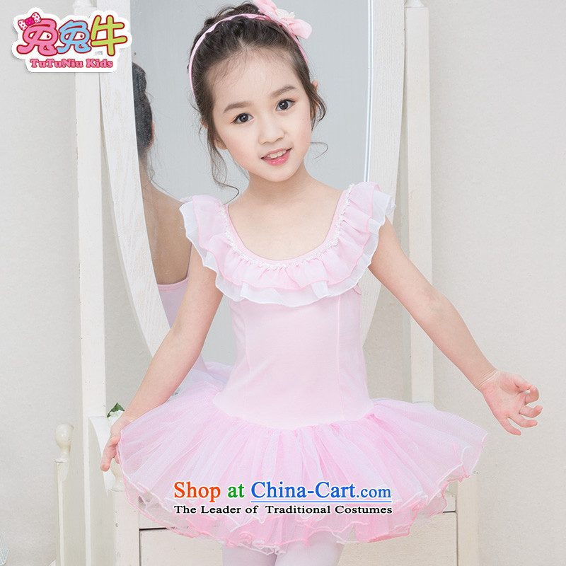 The United States and the 2014 autumn load new cattle, early childhood dance exercise clothing children ballet skirt 25 girls exercise clothing pink 150