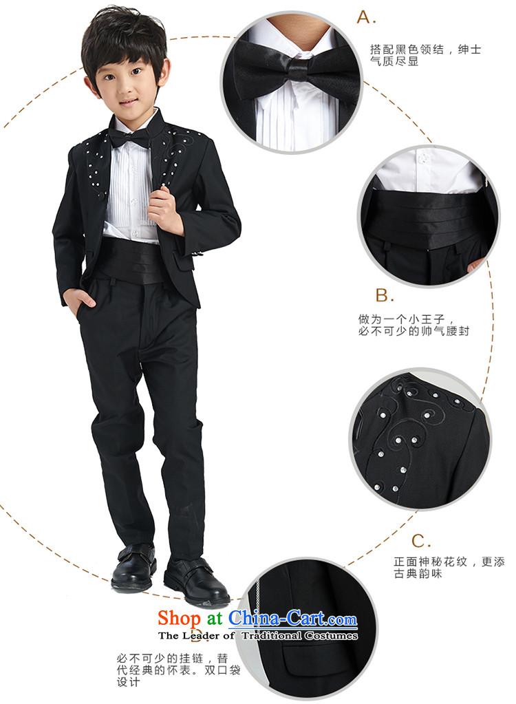 The league-embroidered dress boy children suits dress kit wedding ...
