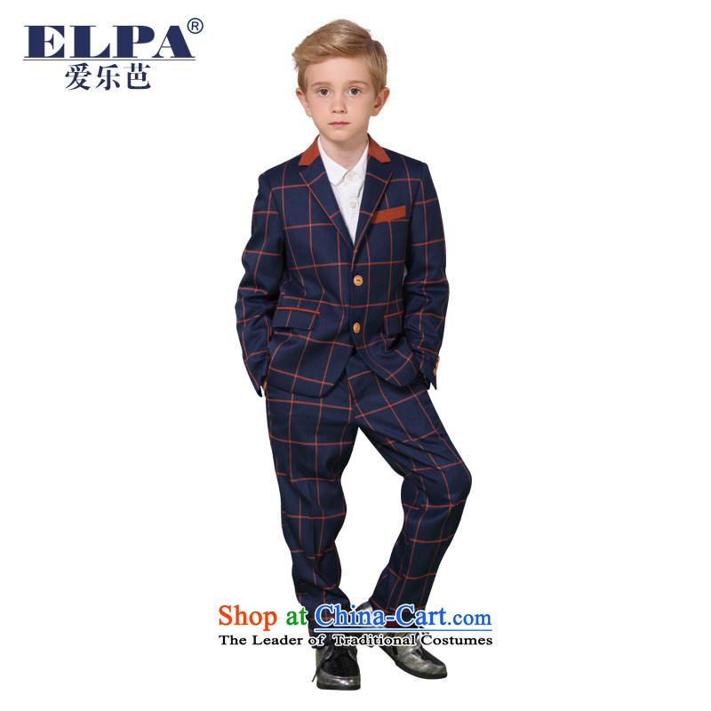 The 2014 autumn new ELPA CHILDREN'S APPAREL small boy dress suit suit two kits NX0001 100