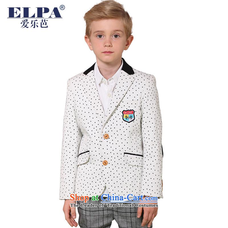 The 2014 autumn new ELPA CHILDREN'S APPAREL small boy Stretch Comfort suit wave-point calibration services of leisure suit NX0011 130