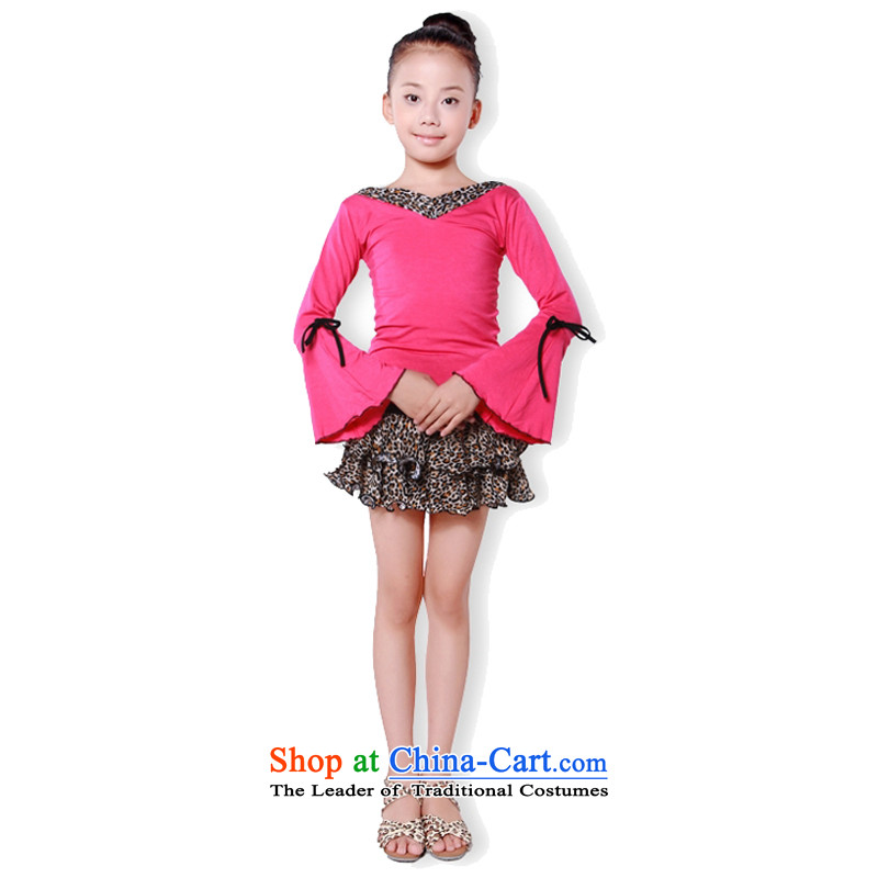 Adjustable leather case package for children's dance serving children ballet, Latin exercise clothing black leather adjustable package has been pressed 160cm, shopping on the Internet