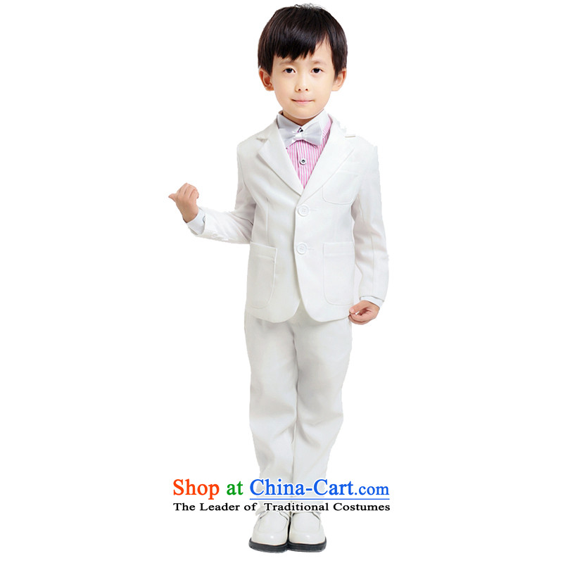 Adjustable to suit male children package leather Flower Girls dress White Kit?150cm