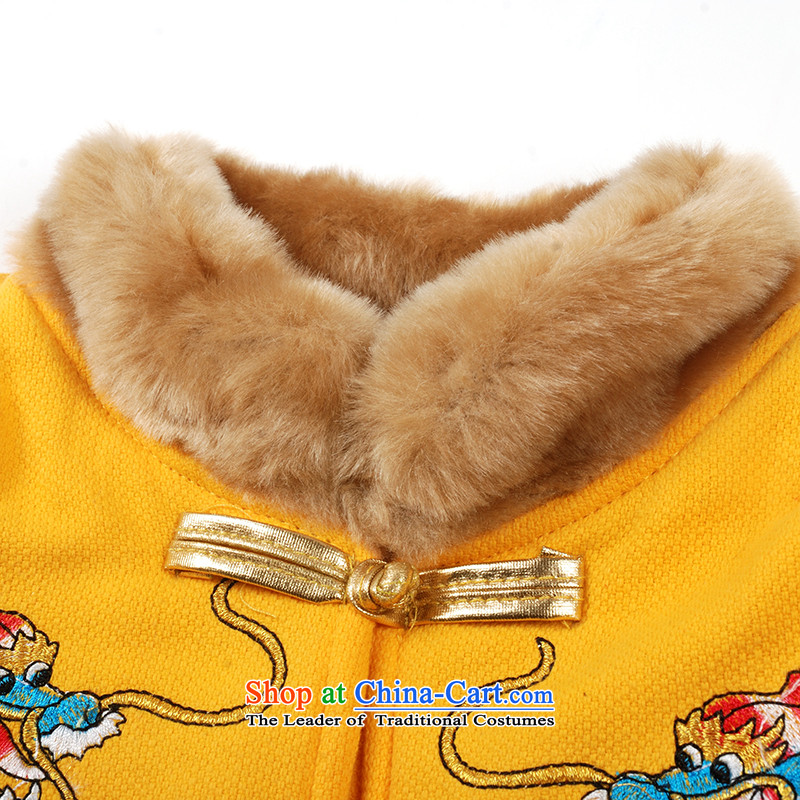 Child Lok Wei winter clothing new products boy lint-free cotton waffle plus new year Kit Ssangyong China wind children聽under age 1 Tang Dynasty 2 years 3 years聽90 girls red Lok Wei (tonglehui) , , , shopping on the Internet