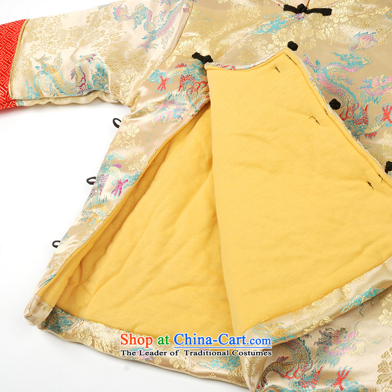 Child Lok Wei new winter grade boy baby New Year Tang dynasty satin children sets 4 piece landowners with yellow 110 children 1-4 years Lok Wei (tonglehui) , , , shopping on the Internet
