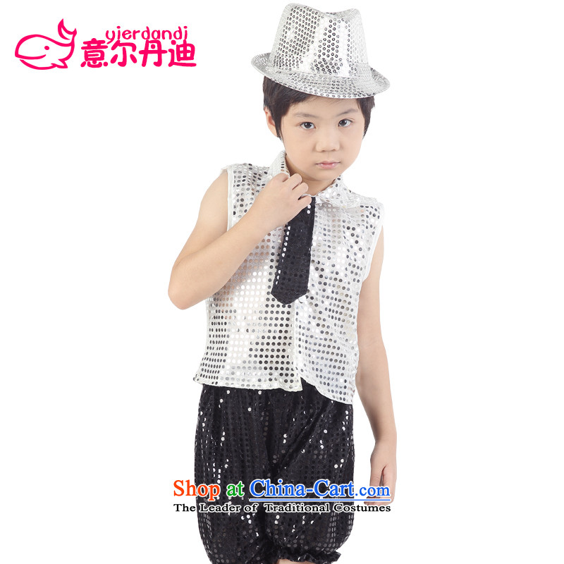 Children costumes children dance performances jazz dance services on-chip dance child care services for boys and girls show services skirt dance service kit and white and black trousers聽160