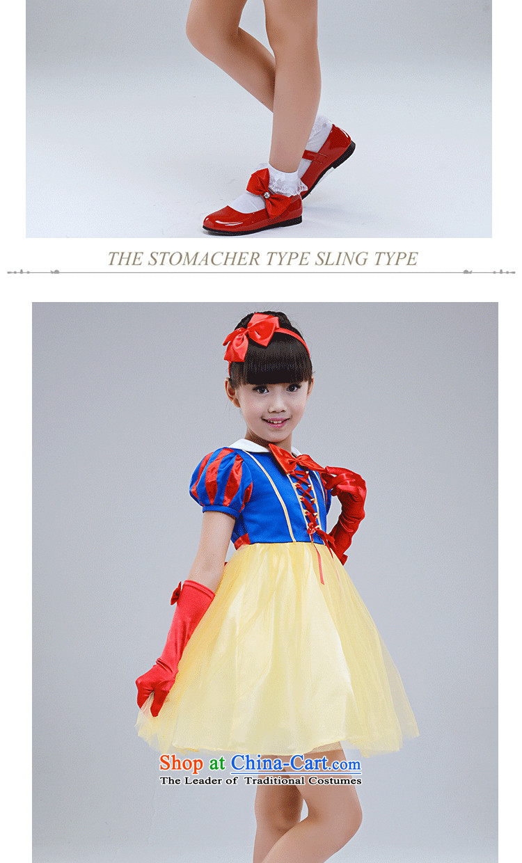 the workshop on yi girls snow white dress children halloween