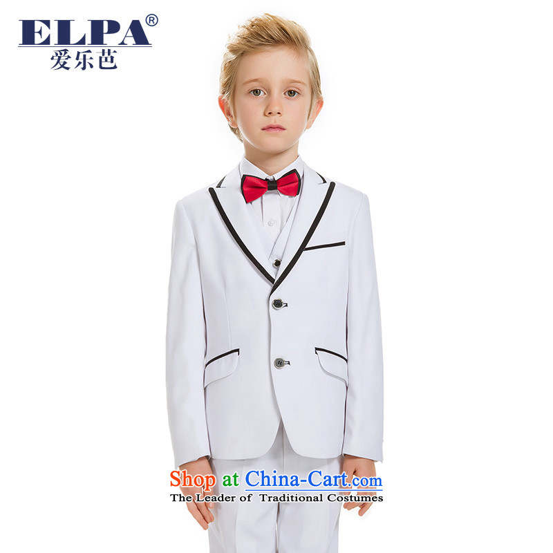 61 boy children ELPA will serve to show Students Chorus Kit wedding dresses Flower Girls Boys autumn NXB0043 White 130
