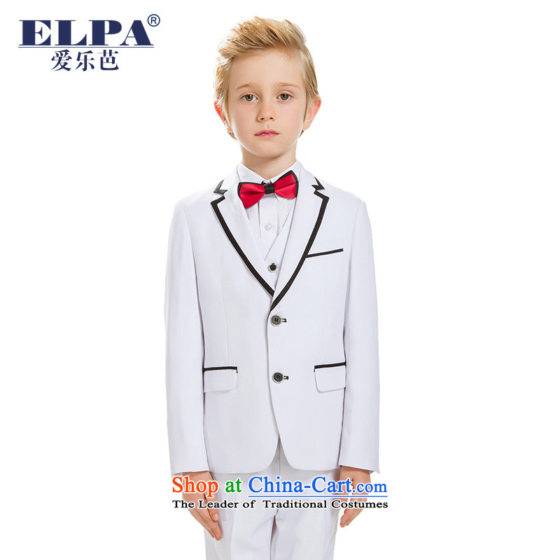 The new 2015 ELPA boy children 61 will serve to show choir Kit Flower Girls NXB0041B Dress Suit White 160