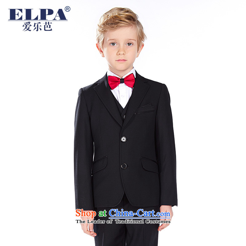 The autumn 2015 new ELPA boy children 61 will serve to show choir Kit Flower Girls dressNXB0040A Black150