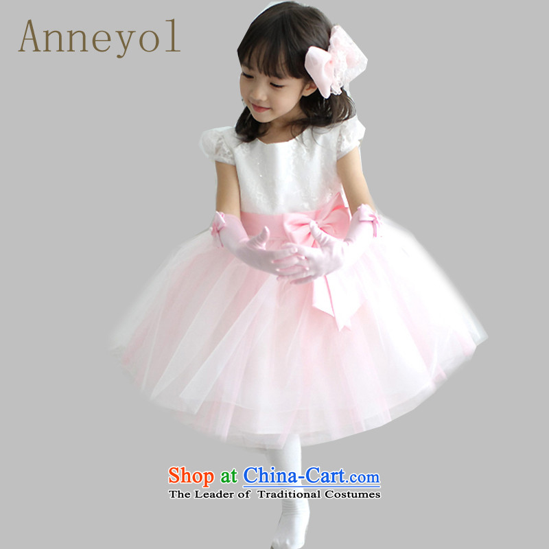Flower Girls Wedding Dress Princess Birthday Flower Girls dress wedding dress dresses children skirt girls show dress code recommendations 130 light blue 115-130cm