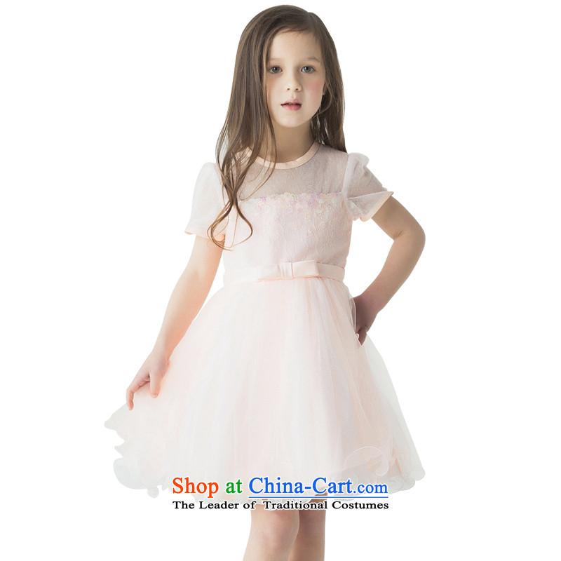 Jasmine 2015 New Po Children spring dress clothes princess skirt will show services girls custom bon bon skirt toner orange custom size - 5 day shipping