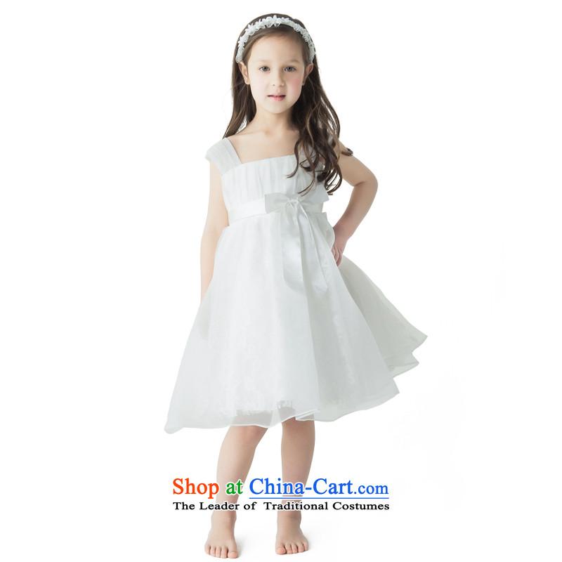 Po Jasmine children dress princess skirt dress uniform will show girls small dress evening dresses custom Flower Girls ivory90 up to 53 custom of chest