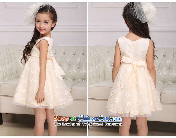 2d9b15973e500 The sparkling waters of children's wear Tong Xing 2015 girls princess skirt  CUHK girls dress children