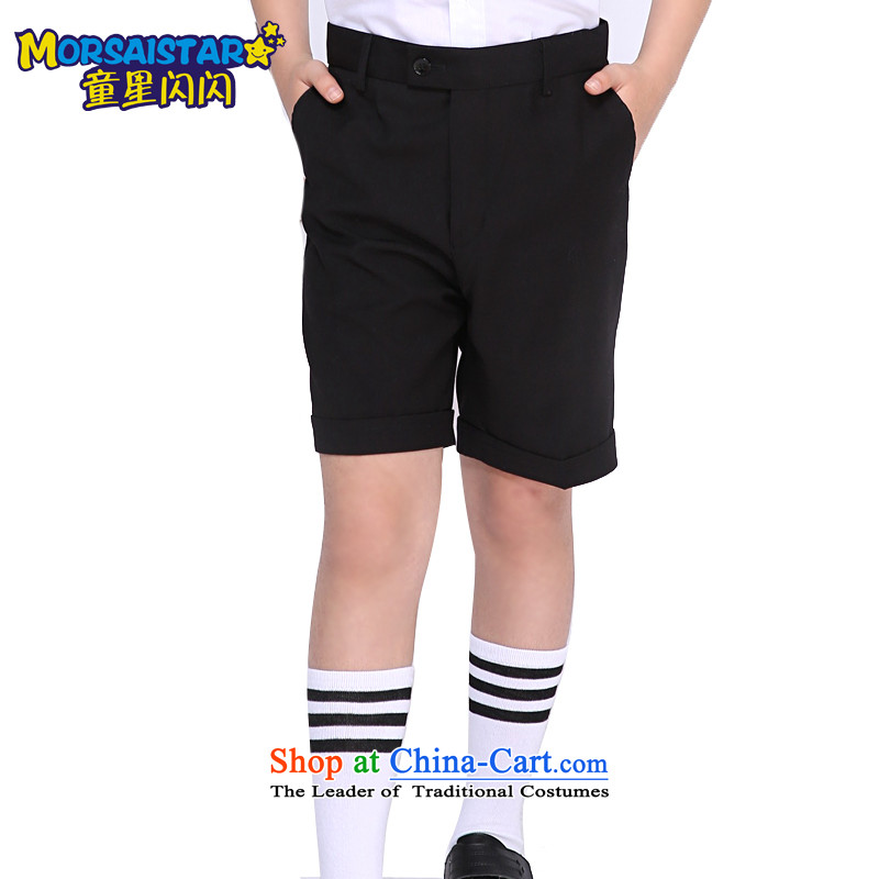 The sparkling waters of children's wear Tong Xing children small trousers boy pants a performance by students of black trousers pants boys shorts long black trousers 150, child star shining MORSAISTAR () , , , shopping on the Internet