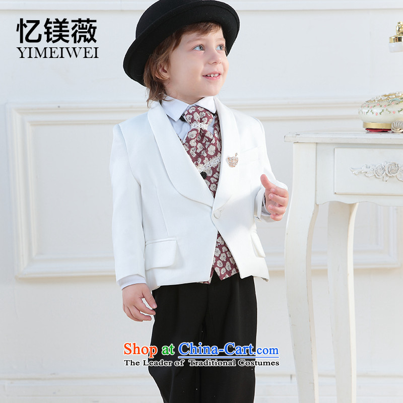 Recalling that disarmament boy Vicki flower girl child baby child dress suits age serving dinner show suits white140-150recommendation 14 Code