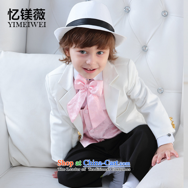 Recalling that small children's wear suit Vicki disarmament boy baby suit flower girls under the age of children and suit dress kit with white150 - 160131 recommendations fall 16 Code
