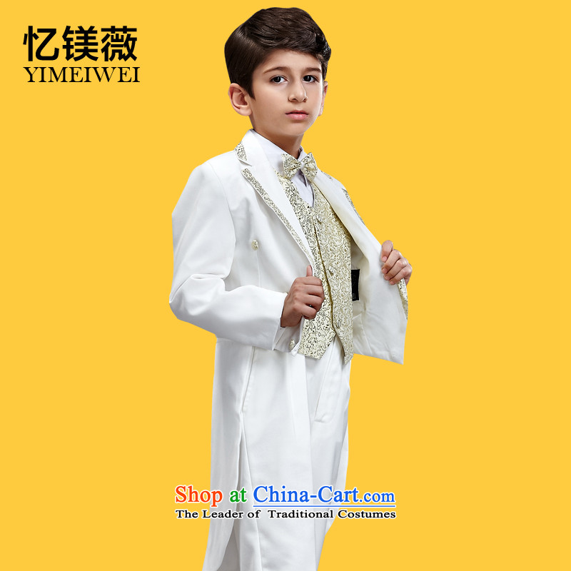 Recalling that disarmament Ms Audrey EU children frock coat students stage performances magician Male Chorus Services Flower Girls dress white frock Platinum support�recommendation 16 Code 150 - 160131