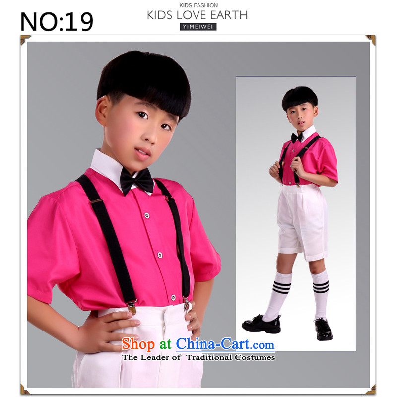 Recalling that disarmament Ms Audrey Eu Flower Girls dress children 61 will show services Boys School student performances services shirt strap kit in the red short-sleeved white shortsrecommendation 16 Code 150 - 160131