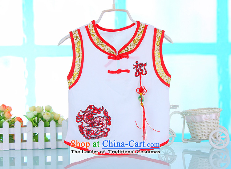 Summer 2015 new boy child baby Tang Dynasty Package show birthday embroidered uniform4674Awhitepicture, prices, 100cm brand platters! The elections are supplied in the national character of distribution, so action, buy now enjoy more preferential! As soon as possible.