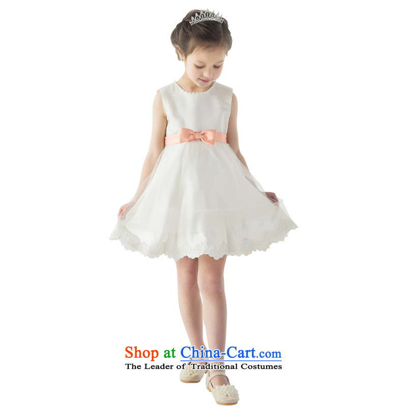 Po Jasmine children dress princess skirt girls princess fall skirt children's entertainment services will bon bon skirt evening dress parent-child champagne color with 130 - chest waist 66 69.