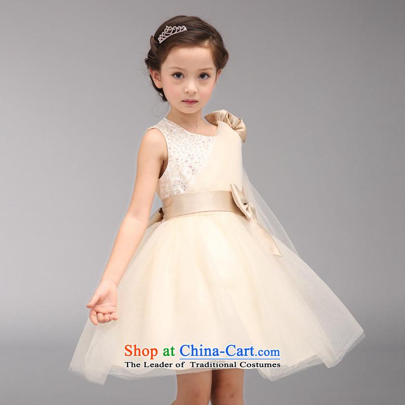 Each Ngai girls princess skirt dress skirt 61 Will Princess skirt girls dancing girls will serve the princess skirt champagne Wong聽150