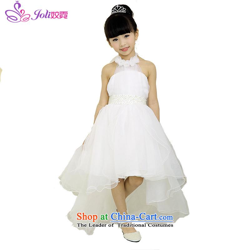 Each Ngai girls princess skirt dress skirt 61 Will Princess skirt girls dancing girls will serve the princess skirt White聽160