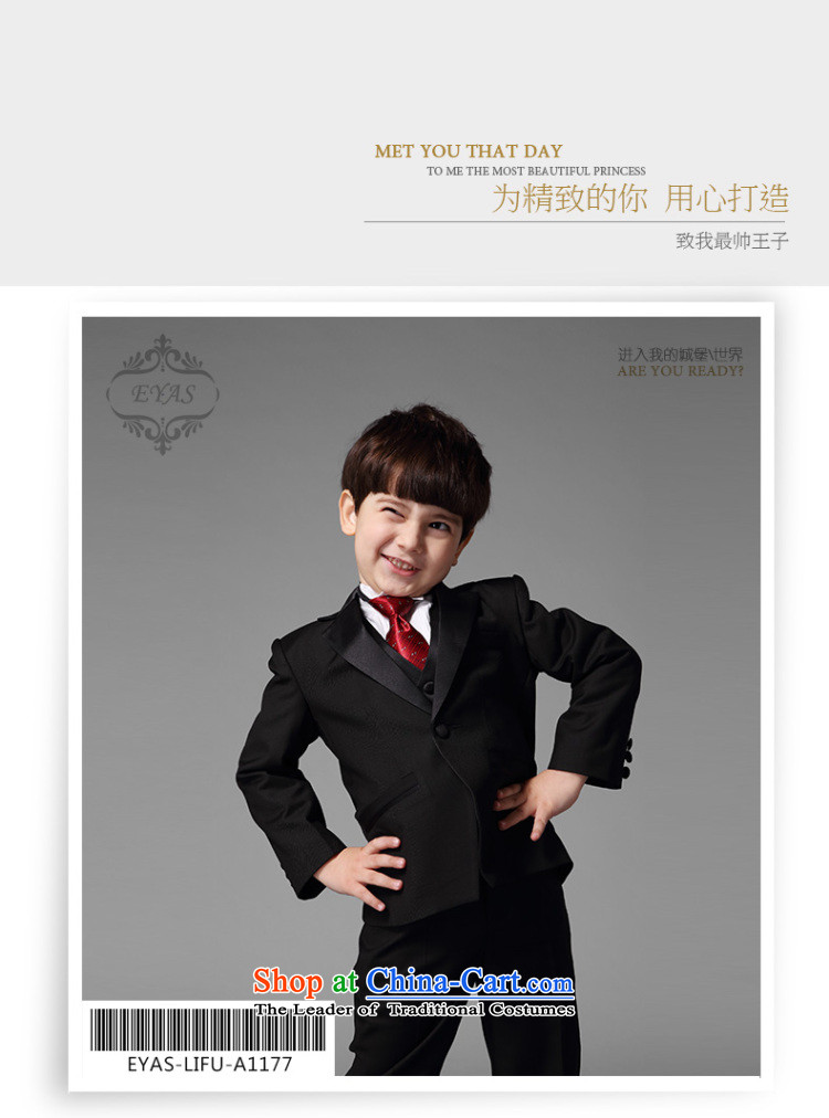 Eyas boy children suits CUHK girls suit dress Flower Girls Boys black autumn new Korean Black 5 piece set 150 pictures, prices, brand platters! The elections are supplied in the national character of distribution, so action, buy now enjoy more preferential! As soon as possible.