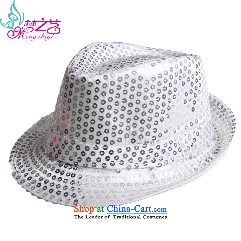 Jazz Concert on children film HATS Stage dance for boys and girls of early childhood on the Korean dance piece hat white cap