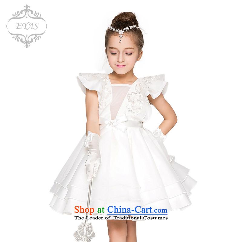 Eyasgirls princess skirt spring wedding dresses skirt Flower Girls dresses princess children bon bon skirt summer children's wear white140
