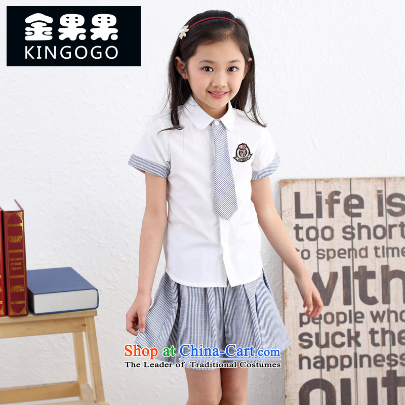 Children's Wear summer school uniform students men and women 2015 new boys and girls kit for Children Chorus110010 Services color160