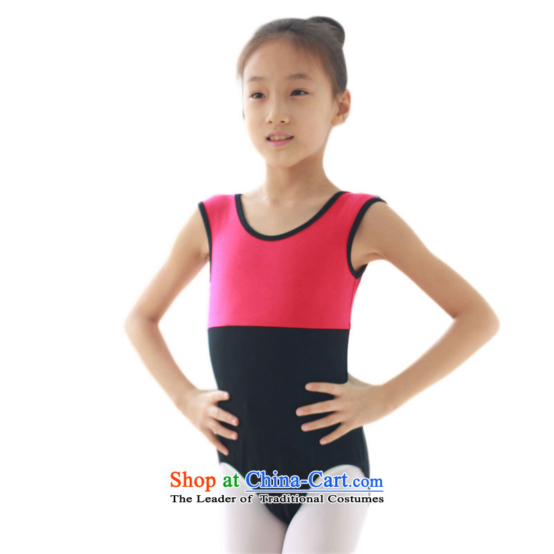 Dan poem Golan Children Ballet Dance exercise clothing services services serving short-sleeved performances gymnastics choir performance services will recommend a yard water purification powder spell out in Canada Black 130 code 120CM
