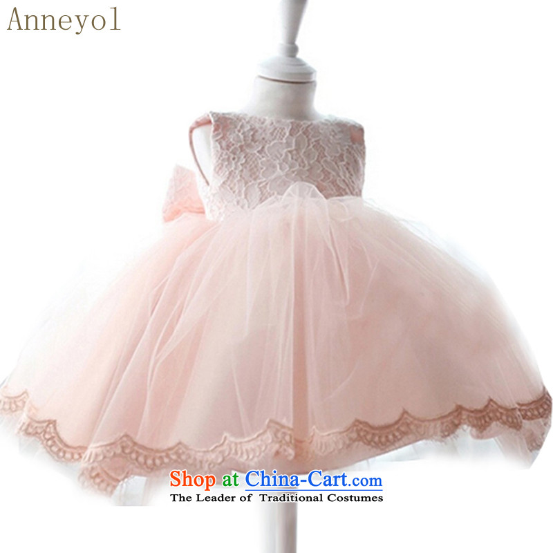 Children wedding princess anneyol skirt flower girl children dress wedding dresses baby years dress demo kit wedding map color�100 yards about one year old 70-80 High