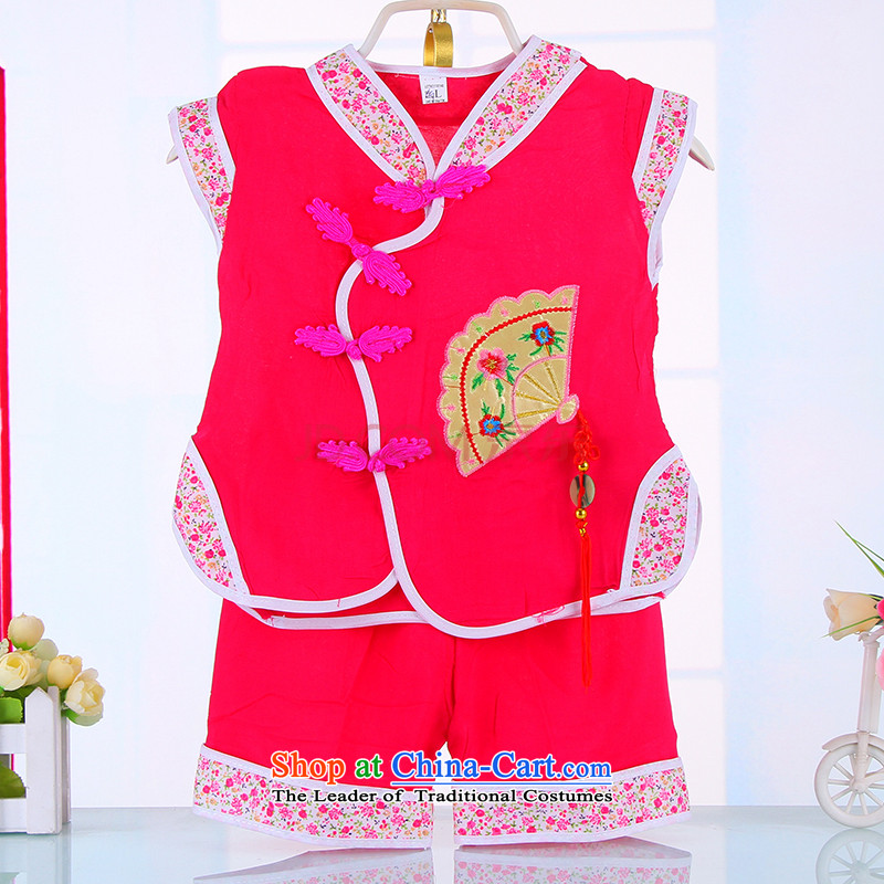 The Spring and Autumn Period, girls Tang Dynasty Tang dynasty children of ethnic children under the age of your baby birthday party dress reception rose 80
