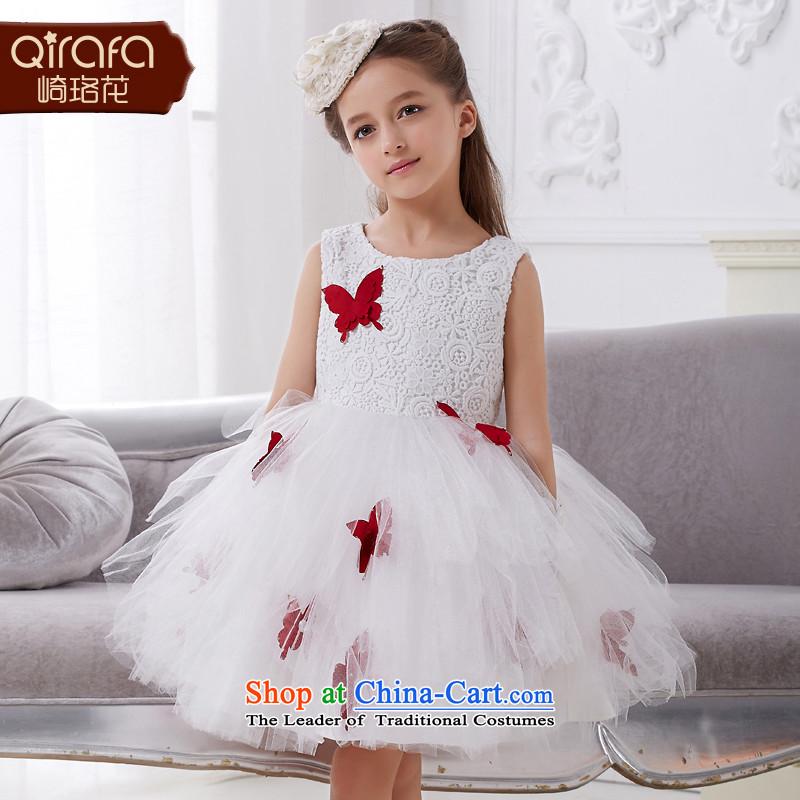Kawasaki Judy flower QIRAFA girls dress skirt summer princess skirt girls dress girls princess skirt princess children figure130 5009 skirt code