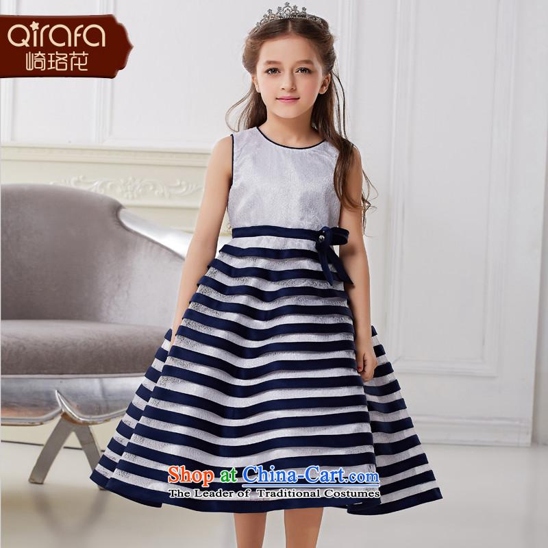 Kawasaki Judy spend QIRAFA girls princess skirt summer girls dresses princess skirt girls dress girls dress skirt 5001 Royal Blue聽150 code