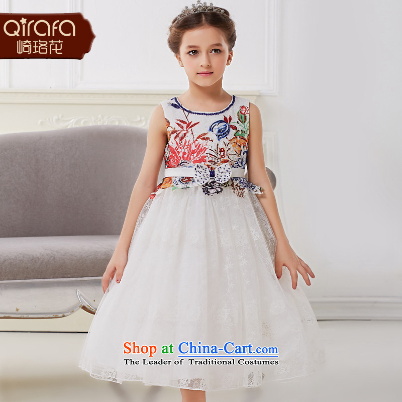 Kawasaki Judy flower QIRAFA girls dresses girls princess skirt princess skirt girls dress children girls dress skirt 5008 figure150 code