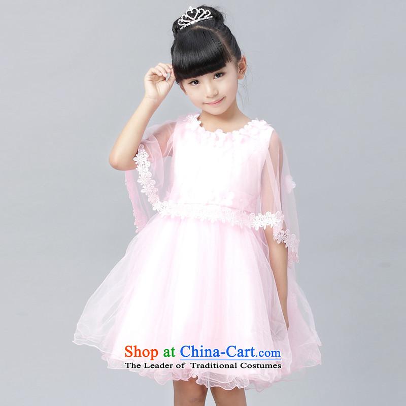 Each Ngai girls princess skirt dress skirt 61 Will Princess skirt girls dancing girls will serve the princess skirt pink160