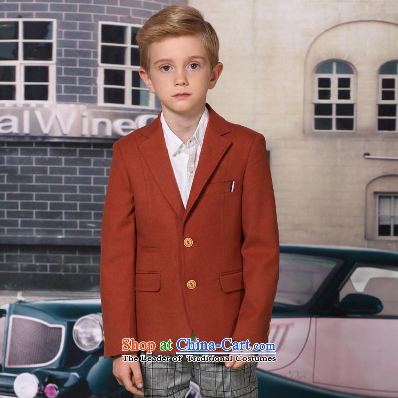 The 2014 autumn new ELPA CHILDREN'S APPAREL small boy thin hair suit? Dress Suit NX0006 NX0006A 175