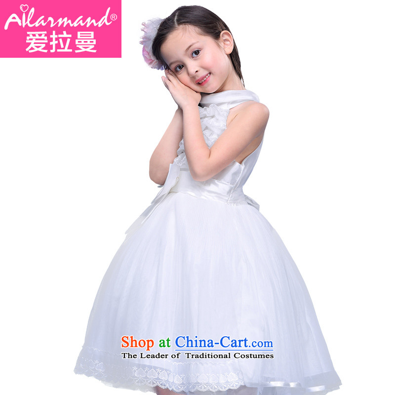 Love Rahman children's wear girls for summer 2015 new dresses Children Summer Princess skirt large skirts children Korean girls skirt White聽110
