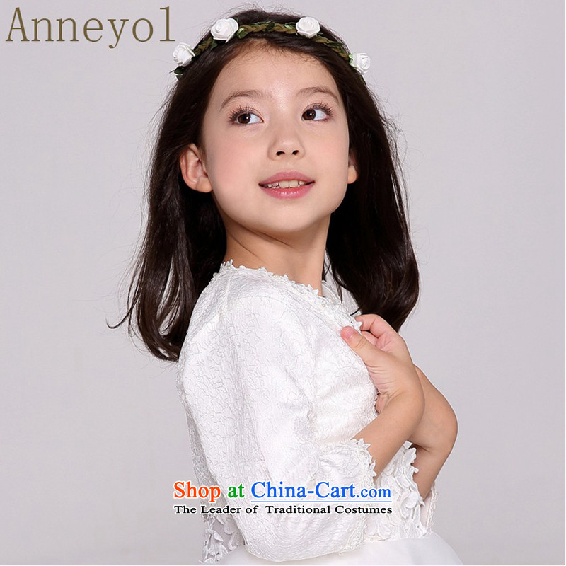 Small children at shoulder dress jacket flower girl children (8 hours cuff shawl cream) 120 yards 105-110cm recommended high