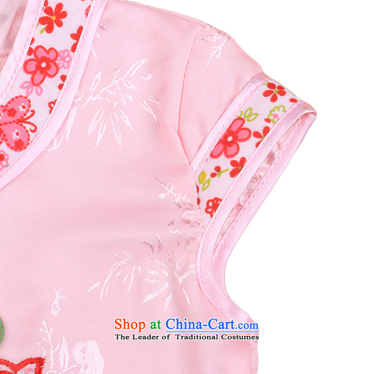 Summer Children's Wear Children Tang Dynasty Package girls Tang dynasty qipao will baby Tang dynasty kids Tang dynasty 4808 White100CM photo, prices, brand platters! The elections are supplied in the national character of distribution, so action, buy now enjoy more preferential! As soon as possible.