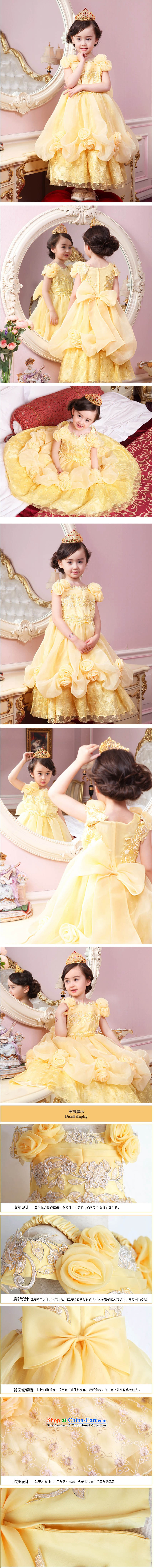 Adjustable leather case package girls dress skirt Princess Services Cinderella dress snow white yellow聽150cm photo, prices, brand platters! The elections are supplied in the national character of distribution, so action, buy now enjoy more preferential! As soon as possible.