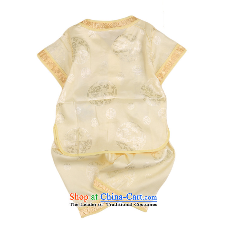 2015 Summer, Tang dynasty birthday with your baby infant age Qingsheng Tang dynasty boy short-sleeved national services CHILDREN SETS white 90 pictures, prices, brand platters! The elections are supplied in the national character of distribution, so action, buy now enjoy more preferential! As soon as possible.