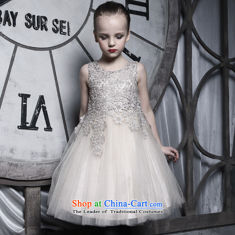 Love of Ko Yo Girl Princess skirt dress parent's Child Child dresses upscale manually children princess skirt will make a vow Goblin140
