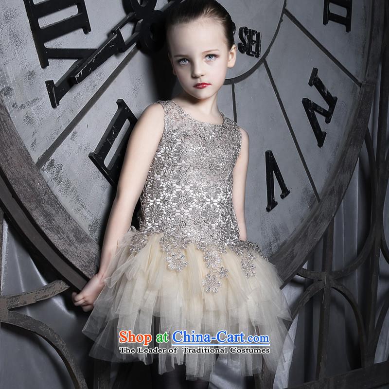 Love of Ko Yo children will dress skirt princess skirt girls dress Flower Girls dress girls dress dancing Goblin150