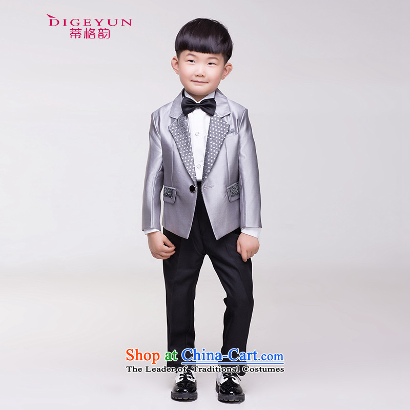 The following children dress school costumes and packaged Flower Girls Moderator shows service silver gray 150