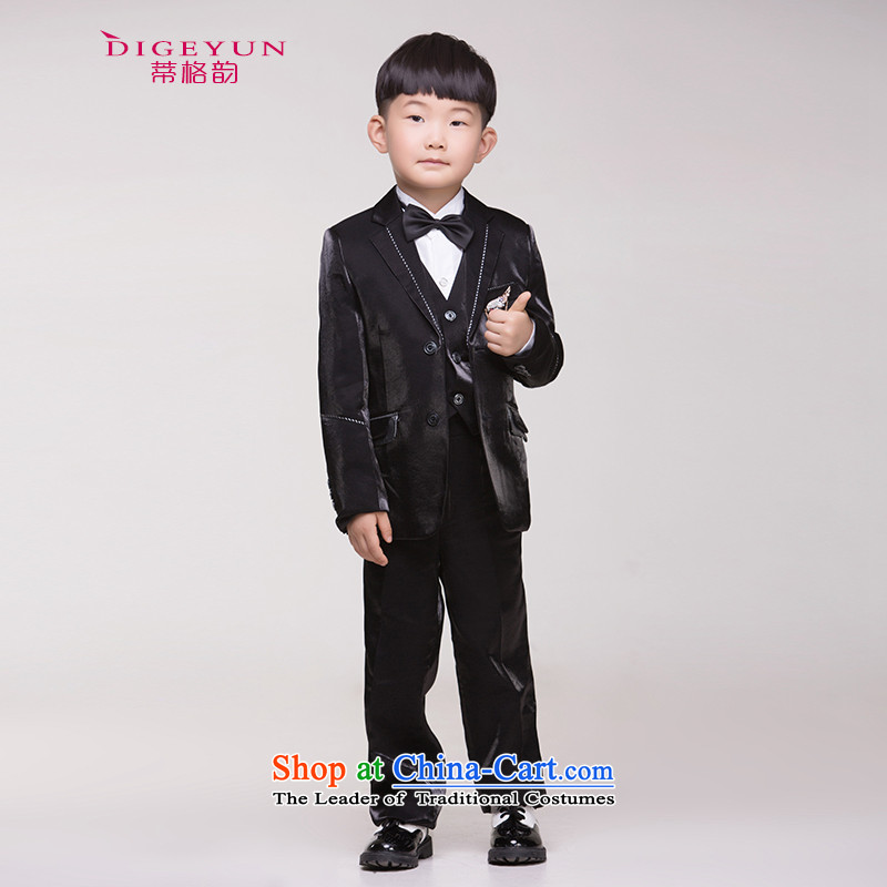 The following child children dress suits small boy suits school costumes and Black 150