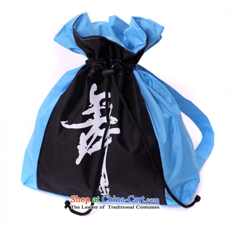 Children Dance Dance Dance package package adult supplies backpacks waterproof silk?TZ5108-0120 package?blue plus black