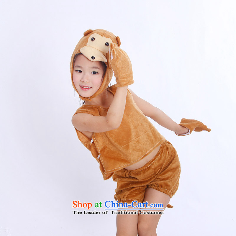 Children will animal Costume Dance wearing apparel package TZ5108-0116 1426 small monkeys L code (for 120 within the Height